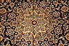 Kashan Beige Hand Knotted 99 X 131  Area Rug 100-28040 Thumb 8