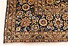 Kashan Beige Hand Knotted 99 X 131  Area Rug 100-28040 Thumb 9