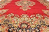 Kerman Green Hand Knotted 100 X 136  Area Rug 100-28042 Thumb 4