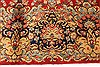 Kerman Green Hand Knotted 100 X 136  Area Rug 100-28042 Thumb 5