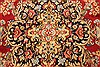Kerman Green Hand Knotted 100 X 136  Area Rug 100-28042 Thumb 6