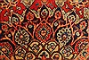Kashmar Green Hand Knotted 96 X 131  Area Rug 100-28044 Thumb 10