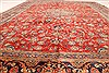 Kashmar Green Hand Knotted 96 X 131  Area Rug 100-28044 Thumb 5