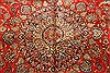 Kashmar Green Hand Knotted 96 X 131  Area Rug 100-28044 Thumb 7