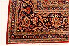 Kashmar Green Hand Knotted 96 X 131  Area Rug 100-28044 Thumb 8