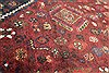 Abadeh Red Hand Knotted 51 X 65  Area Rug 400-28045 Thumb 10