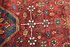 Abadeh Red Hand Knotted 51 X 65  Area Rug 400-28045 Thumb 11
