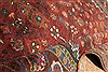 Abadeh Red Hand Knotted 51 X 65  Area Rug 400-28045 Thumb 6