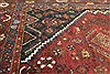 Abadeh Red Hand Knotted 51 X 65  Area Rug 400-28045 Thumb 9