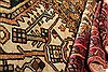 Malayer Beige Hand Knotted 44 X 72  Area Rug 400-28050 Thumb 5