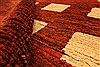 Gabbeh Brown Hand Knotted 46 X 48  Area Rug 100-28052 Thumb 1