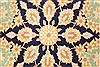 Tabriz Beige Hand Knotted 48 X 79  Area Rug 100-28058 Thumb 6