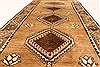Ghoochan Beige Hand Knotted 39 X 71  Area Rug 100-28059 Thumb 1