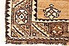 Ghoochan Beige Hand Knotted 39 X 71  Area Rug 100-28059 Thumb 5