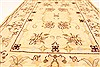 Kashmar Beige Hand Knotted 37 X 50  Area Rug 100-28061 Thumb 5