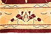 Kashmar Beige Hand Knotted 36 X 53  Area Rug 100-28062 Thumb 5