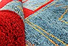 Gabbeh Red Hand Knotted 40 X 510  Area Rug 100-28069 Thumb 1