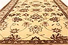 Kashmar Beige Square Hand Knotted 38 X 46  Area Rug 100-28071 Thumb 5