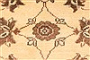 Kashmar Beige Square Hand Knotted 38 X 46  Area Rug 100-28071 Thumb 7