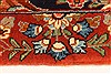 Sarouk Multicolor Runner Hand Knotted 23 X 311  Area Rug 100-28074 Thumb 6