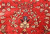 Hamedan Red Runner Hand Knotted 33 X 127  Area Rug 100-28075 Thumb 14
