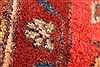 Hamedan Red Runner Hand Knotted 33 X 127  Area Rug 100-28075 Thumb 2