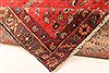 Hamedan Red Runner Hand Knotted 33 X 127  Area Rug 100-28075 Thumb 5