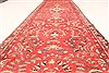 Hamedan Red Runner Hand Knotted 33 X 127  Area Rug 100-28075 Thumb 9