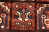 Bakhtiar Red Hand Knotted 51 X 85  Area Rug 100-28078 Thumb 12