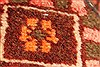 Bakhtiar Red Hand Knotted 51 X 85  Area Rug 100-28078 Thumb 1
