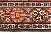 Bakhtiar Red Hand Knotted 51 X 85  Area Rug 100-28078 Thumb 8