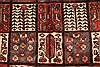 Bakhtiar Red Hand Knotted 51 X 85  Area Rug 100-28078 Thumb 9