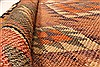 Kilim Brown Runner Hand Knotted 55 X 103  Area Rug 100-28080 Thumb 1