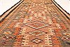 Kilim Brown Runner Hand Knotted 55 X 103  Area Rug 100-28080 Thumb 4