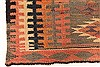 Kilim Brown Runner Hand Knotted 55 X 103  Area Rug 100-28080 Thumb 7