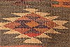 Kilim Brown Runner Hand Knotted 55 X 103  Area Rug 100-28080 Thumb 9
