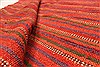 Kilim Red Square Hand Knotted 610 X 83  Area Rug 100-28082 Thumb 2