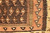 Kilim Brown Runner Hand Knotted 45 X 98  Area Rug 100-28087 Thumb 12