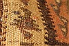 Kilim Brown Runner Hand Knotted 45 X 98  Area Rug 100-28087 Thumb 1