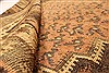 Kilim Brown Runner Hand Knotted 45 X 98  Area Rug 100-28087 Thumb 3