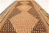 Kilim Brown Runner Hand Knotted 45 X 98  Area Rug 100-28087 Thumb 6