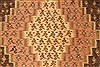 Kilim Brown Runner Hand Knotted 45 X 98  Area Rug 100-28087 Thumb 8