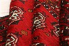 Baluch Red Runner Hand Knotted 51 X 107  Area Rug 100-28089 Thumb 2