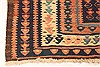 Kilim Blue Runner Hand Knotted 43 X 106  Area Rug 100-28090 Thumb 8