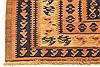 Kilim Blue Runner Hand Knotted 42 X 98  Area Rug 100-28092 Thumb 9