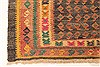 Kilim Blue Runner Hand Knotted 43 X 94  Area Rug 100-28093 Thumb 7