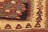 Kilim Brown Runner Hand Knotted 43 X 91  Area Rug 100-28095 Thumb 9