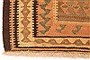 Kilim Brown Runner Hand Knotted 44 X 93  Area Rug 100-28098 Thumb 7
