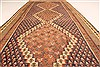 Kilim Brown Runner Hand Knotted 45 X 103  Area Rug 100-28099 Thumb 3