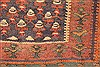 Kilim Brown Runner Hand Knotted 45 X 103  Area Rug 100-28099 Thumb 8